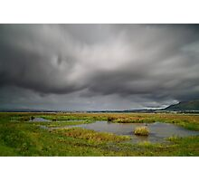 on the edge of loch leven Photographic Print