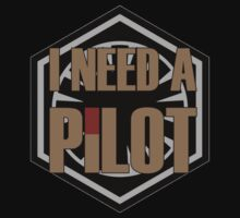 I Need a Pilot One Piece - Short Sleeve