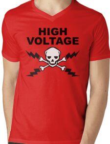 High Voltage Mens V-Neck T-Shirt