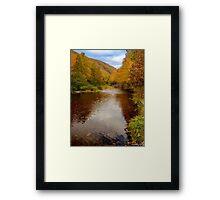 Cabot Trail Autumn 2015 Framed Print
