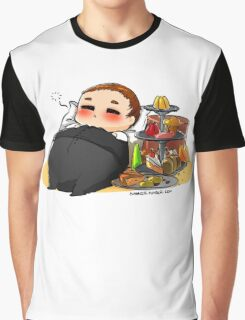 Fat!Mycroft Graphic T-Shirt