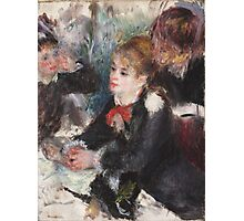 Auguste Renoir - At the Milliner's 1878  Woman Portait Photographic Print