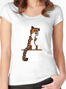 Pixel Hobbes Women's Fitted Scoop T-Shirt