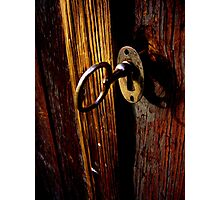Key In Lock Photographic Print