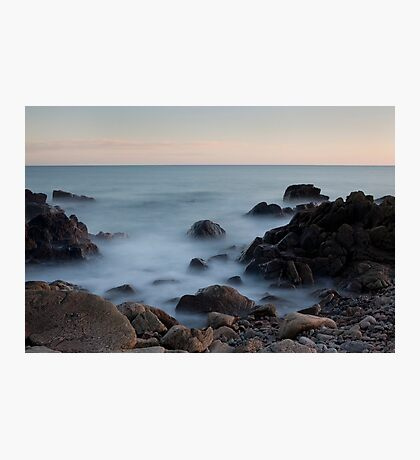 evening light, nigg bay Photographic Print