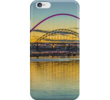 Sunset over the Tyne iPhone Case/Skin