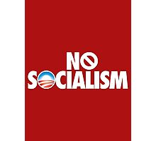NO SOCIALISM Photographic Print