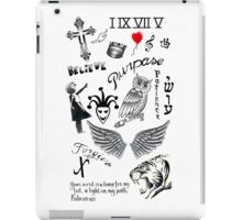 Justin Bieber Tattoos 2016 iPad Case/Skin