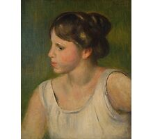 Auguste Renoir - Bust of a Woman  1895 Photographic Print