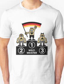 Weltmeister Deutschland (Sport / Fußball) T-Shirt