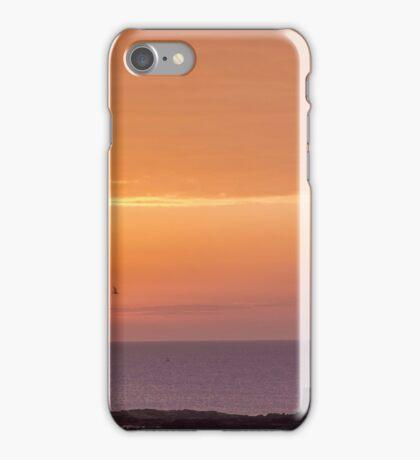 Sunrise at st marys lighthouse whitley bay iPhone Case/Skin