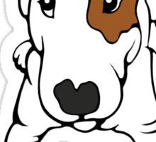 Ruby The English Bull Terrier Sticker