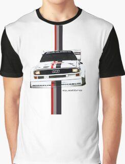 Audi Quattro Rally Graphic T-Shirt