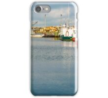 Fishing Boats at Feltzen South iPhone Case/Skin