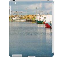 Fishing Boats at Feltzen South iPad Case/Skin