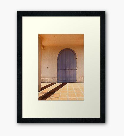 Arcade. Framed Print