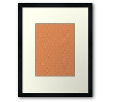 Seamless pattern Framed Print