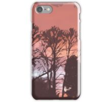 Cutout Sunset iPhone Case/Skin