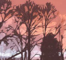 Cutout Sunset Sticker