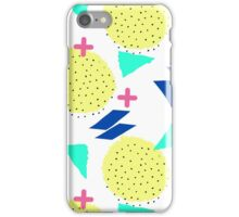 Throwback Abstract 1 iPhone Case/Skin