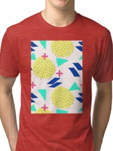Throwback Abstract 1 Tri-blend T-Shirt