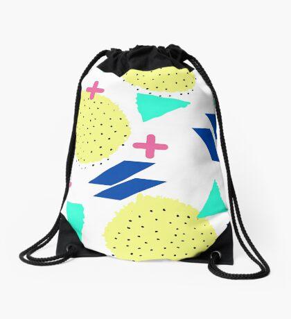 Throwback Abstract 1 Drawstring Bag