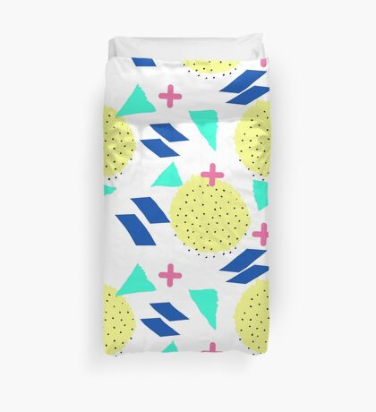 Throwback Abstract 1 Duvet Cover