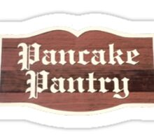 pancake pantry Sticker