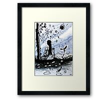 The Star - Tarot Series by Minxi Framed Print