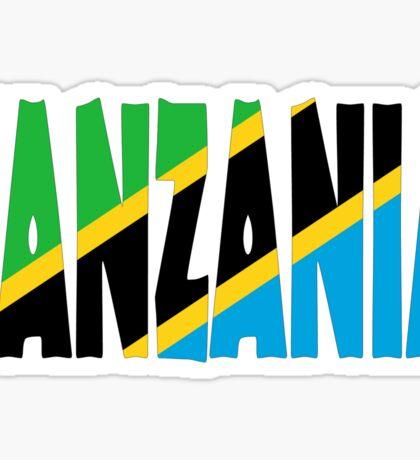 Tanzania Sticker