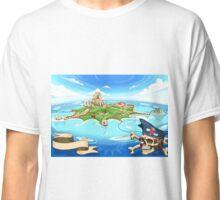 Treasure-Island-Landscape-Fantasy Classic T-Shirt