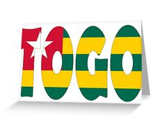 Togo Greeting Card