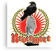 Quoth The Raven Nevermore Canvas Print
