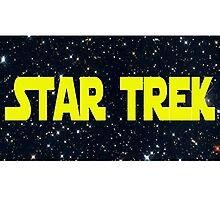 Star Wars/Trek Photographic Print