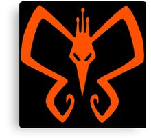 The Venture Brothers - Monarch Logo - Orange Canvas Print