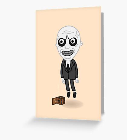The Gentlemen Pop  Greeting Card