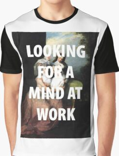 A MIND AT WORK Graphic T-Shirt