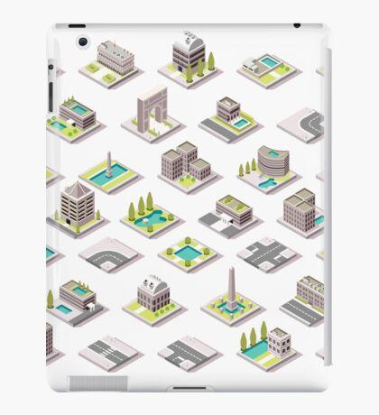 Game-Set-01-Building-Isometric iPad Case/Skin