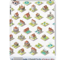 Game-Set-03-Building-Isometric iPad Case/Skin
