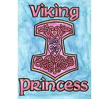 Viking Princess Photographic Print