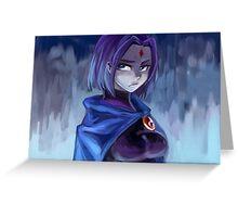 Raven Teen Titans Greeting Card