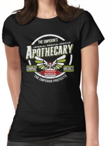 Apothecary - Damaged Womens Fitted T-Shirt