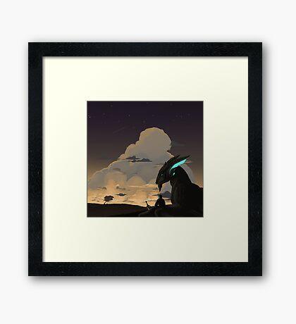 Scalebound Print Framed Print