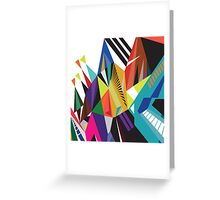 Road To Colorland Greeting Card