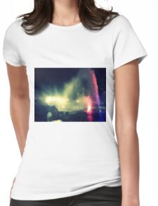 Ashdod water fountain Womens Fitted T-Shirt