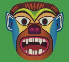 Gorilla ethnic mask by TIERRAdesigner