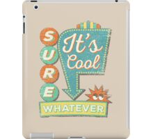 IT'S A SURE SIGN! iPad Case/Skin
