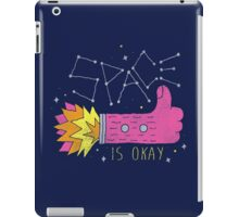 SPACE IS OKAY! iPad Case/Skin