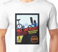 MKE Unicyclists Unisex T-Shirt