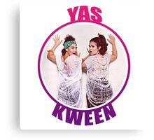 BROAD CITY YAS KWEEN Canvas Print